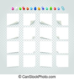 anders, tekst, verzameling, achtergrond., papier, mal, witte , stickers, transparant