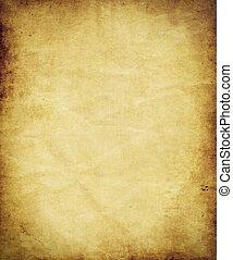antiek oude, perkament, papier