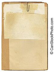 antieke , merk boek op, papier