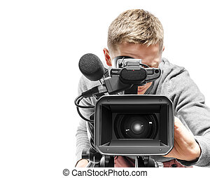 anwender, fototoestel, video