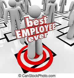 arbeider, tabel, persoon, woorden, werknemer, org, ooit, best, 3d