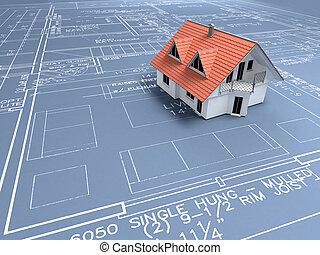 architectuur plan