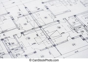 architectuur, plannen