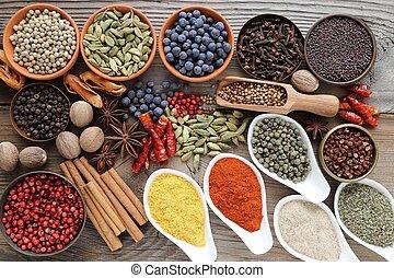 aromatisch, spices.