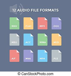 audio, bestand, formaten