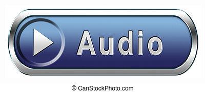 audio, pictogram