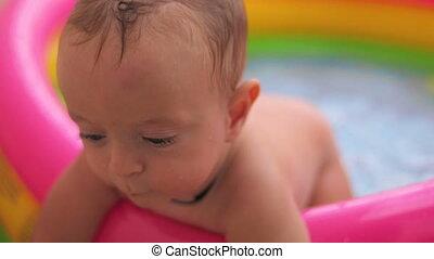 baadt, baby-boy, pool