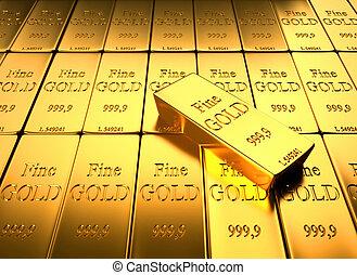 baar, goud