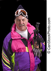 baby boomer, skier