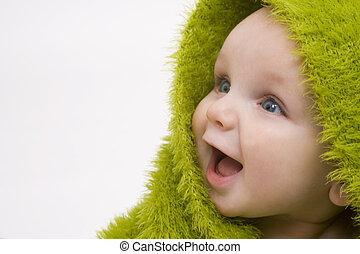 baby, groene