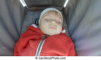 baby wandelaar, slapende