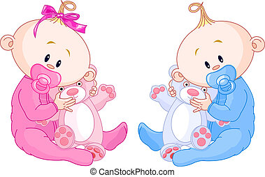 baby's, tweeling