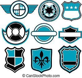 badge, symbool, ontwerp