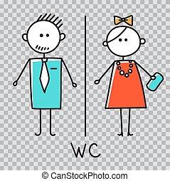 badkamer, mannen, restaurant, meldingsbord, shoppen , restroom, koffiehuis, icon., vrouwen, toilet, schaaltje, deur, teken., wc, centrum, plaat.