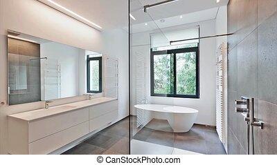 badkamer, moderne, luxe