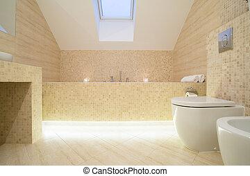 badkamer, verfijnd