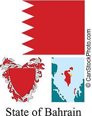 bahrain, staatsvlag