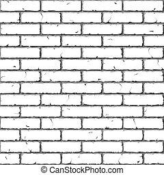 baksteen, wall., texture., seamless