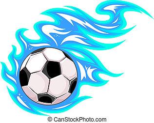 bal, de voetbal van het voetbal, of, kampioenschap