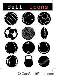 bal, iconen