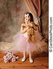 ballerina, weinig; niet zo(veel), beauty