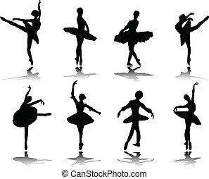 ballerinas, reflectie