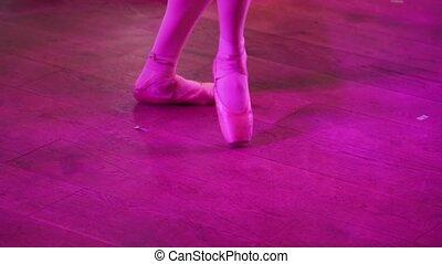 ballet, vrouw, schoentjes, beauty, classieke, weightless, dancing, jonge, uitrusting, ballerina., professioneel, danser, skill., demonstreren, geklede, bevallig, witte , rok