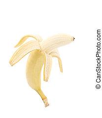 banana., afsluiten, open, op
