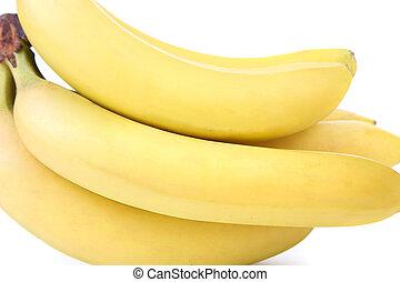 bananas., boven., bos, afsluiten