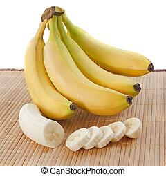 bananen, schijfen