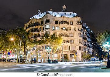 barcelona, casa, spanje, mila