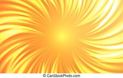 barsten, zon, abstract, herfstachtig, warme, vector, achtergrond