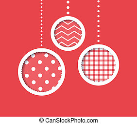 baubles, rood