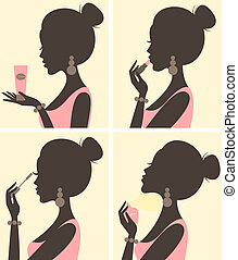 beauty, routine