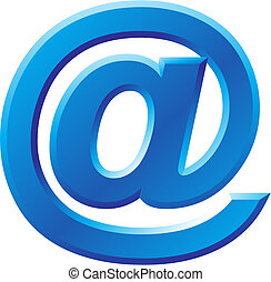 @, beeld, symbool, internet