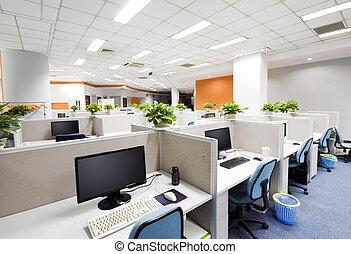 beijing, werk aan plaats, kantoor