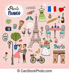 bekende & bijzondere plaatsen, frankrijk, parijs, iconen