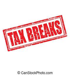 belasting, breaks-stamp