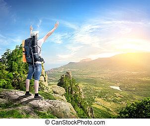 bergen, toerist