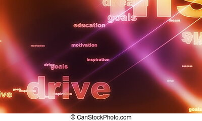 besturen, lus, achtergrond, doelen, droom