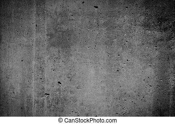beton, textuur, achtergrond