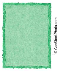 bevlekte, papier, groene