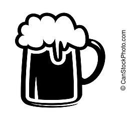 biermok, pictogram