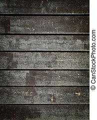 black , hout, grunge, panelen