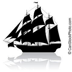 black , scheeps , oud