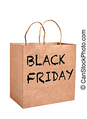 black , zak, papier, vrijdag