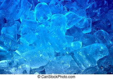 blauw ijs, achtergrond