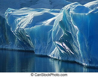 blauw ijs