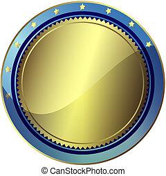 blauwe , 10), (vector, eps, toewijzen, zilverachtig
