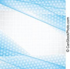 blauwe , abstract, illustratie, achtergrond